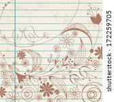 vector hand drawn style... | Shutterstock .eps vector #172259705