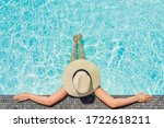 Carefree Woman Relaxation In...