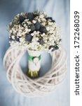 bridal bouquet of gypsophila | Shutterstock . vector #172268039