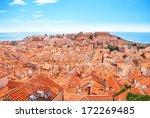 Old Town Dubrovnik On Sunny Da...