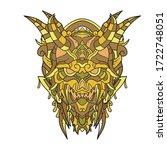 vector illustration abstract... | Shutterstock .eps vector #1722748051