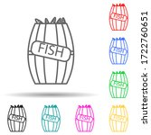fish in a barrel multi color...