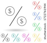 percent with dollar sign multi...