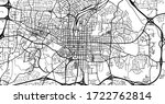 urban vector city map of...   Shutterstock .eps vector #1722762814