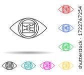 smart eye view concept line...