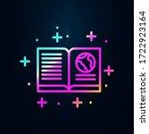 book  geography nolan icon.... | Shutterstock .eps vector #1722923164