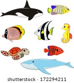 vector illustration  set of... | Shutterstock .eps vector #172294211