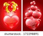 congratulation on valentine's... | Shutterstock .eps vector #172298891