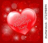 congratulation on valentine's... | Shutterstock .eps vector #172298894