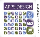 apps design buttons  web...