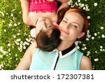 portrait of mother and child... | Shutterstock . vector #172307381