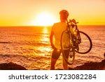 Triathlon Road Bike Cyclist...