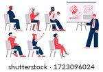business coaching or training... | Shutterstock .eps vector #1723096024