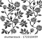 vintage floral seamless pattern.... | Shutterstock .eps vector #172310459