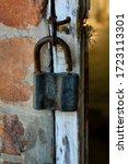 A Ramshackle Lock On The Door