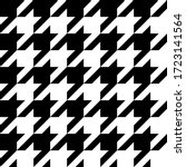 Houndstooth Seamless Pattern....