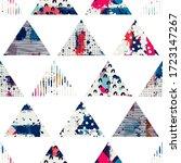 template seamless abstract...   Shutterstock .eps vector #1723147267