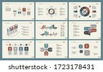 infographic design set can be... | Shutterstock . vector #1723178431