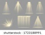 vector spotlight. light effect... | Shutterstock .eps vector #1723188991