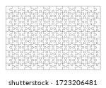 set of one hundred fifty puzzle ... | Shutterstock .eps vector #1723206481