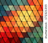 abstract triangle background.... | Shutterstock .eps vector #172321355