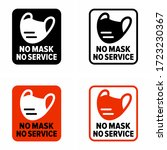 """no mask no service"" warning ... 