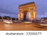 arc de triomphe. paris  france | Shutterstock . vector #17233177