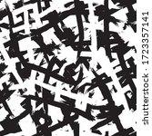 black and white grunge... | Shutterstock .eps vector #1723357141