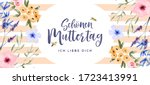 happy mother's day greeting... | Shutterstock .eps vector #1723413991