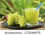 Glass Of Grape Juice Smoothie...