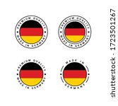 premium quality made in germany ...   Shutterstock .eps vector #1723501267