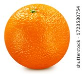 Orange Fruits On White...