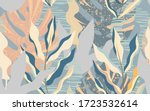 floral seamless pattern.simple...   Shutterstock . vector #1723532614