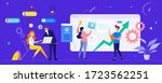 team business strategy...   Shutterstock .eps vector #1723562251