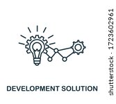 development solution icon from...