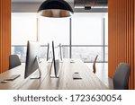 modern coworking office... | Shutterstock . vector #1723630054