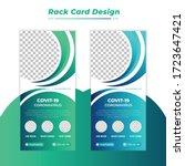 medical dl flyer. healthy rack... | Shutterstock .eps vector #1723647421
