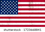 american flag of united states... | Shutterstock .eps vector #1723668841