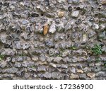 Stock photo medieval anglo saxon stone wall pattern 17236900