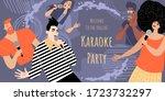 invitation banner template for... | Shutterstock .eps vector #1723732297