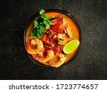 Traditional Tom Yam Soup....