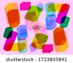 minimalistic design  creative... | Shutterstock .eps vector #1723803841