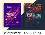 electronic music festival...   Shutterstock .eps vector #1723847161