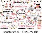 lots of letter designs for... | Shutterstock .eps vector #1723892101