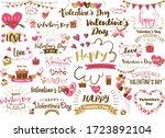 lots of letter designs for... | Shutterstock .eps vector #1723892104