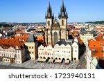 Old Town Of Prague  Czech...
