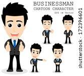 Businessman Cartoon Character...