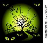 halloween night | Shutterstock .eps vector #17240059