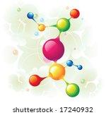 molecule tree | Shutterstock .eps vector #17240932