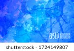 blue watercolor abstract... | Shutterstock .eps vector #1724149807